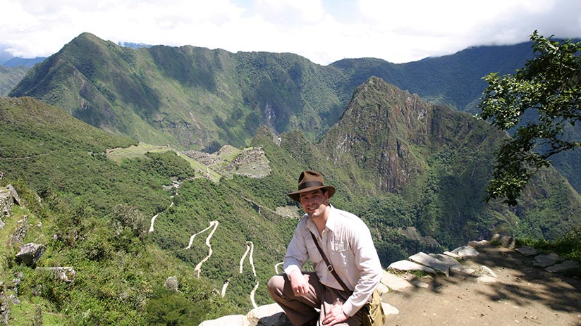 adventure to visit machu picchu