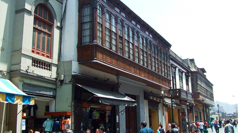 aliaga house within historical buildings