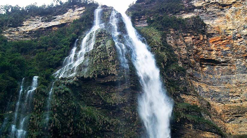 gocta waterfall views in peru