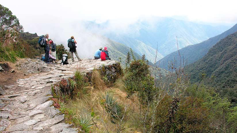 hike the popular inca trail