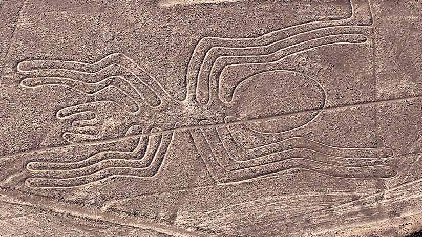 nazca lines views in peru