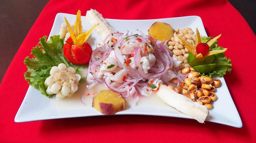 Peruvian ceviche who is