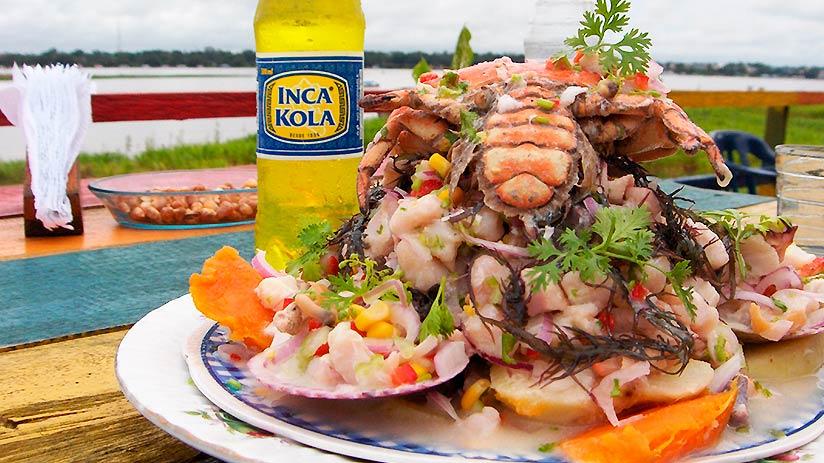 peruvian ceviche dish