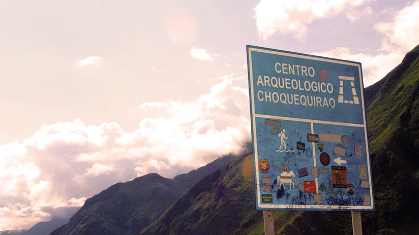 hot to get to the ruins of choquequirao