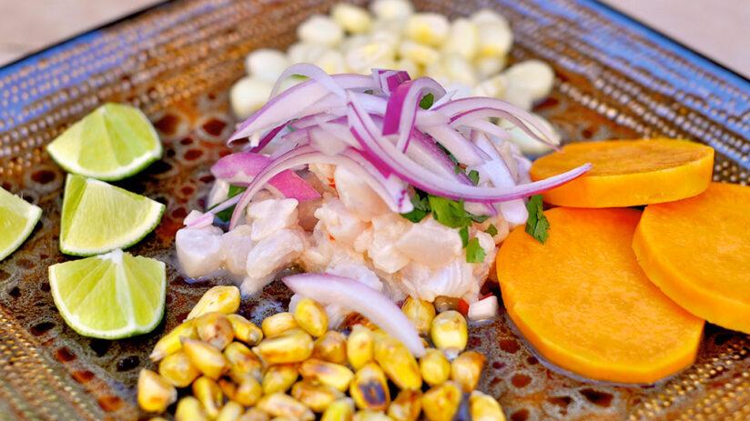 where does peruvian ceviche originate