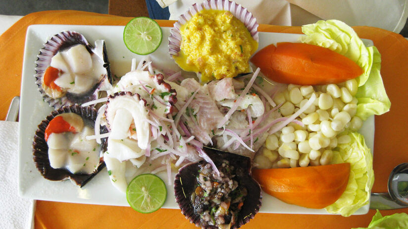 where to try best peruvian ceviche