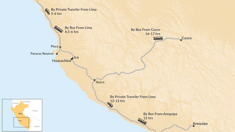 how to get to nazca lines best way to see the nazca lines