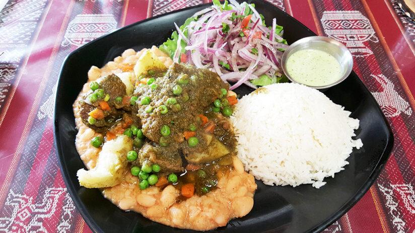 seco de carne traditional peruvian food