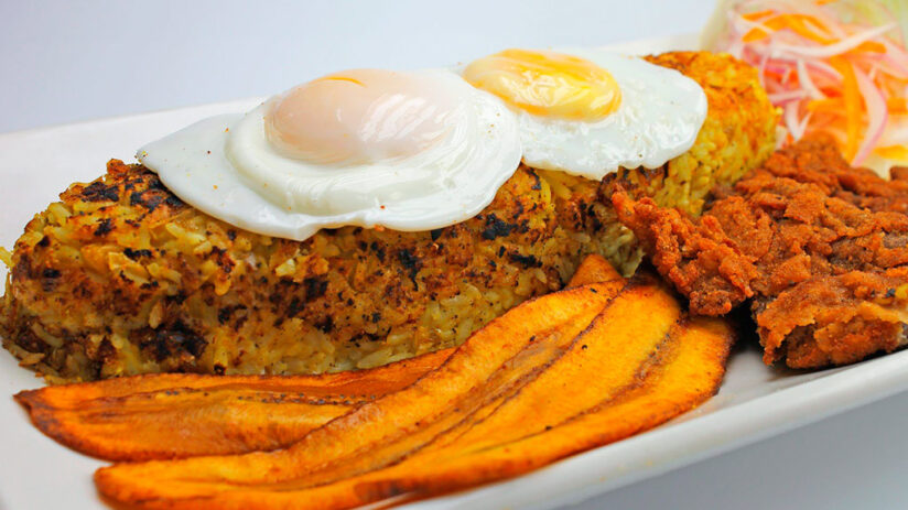 tacu tacu traditional peruvian food