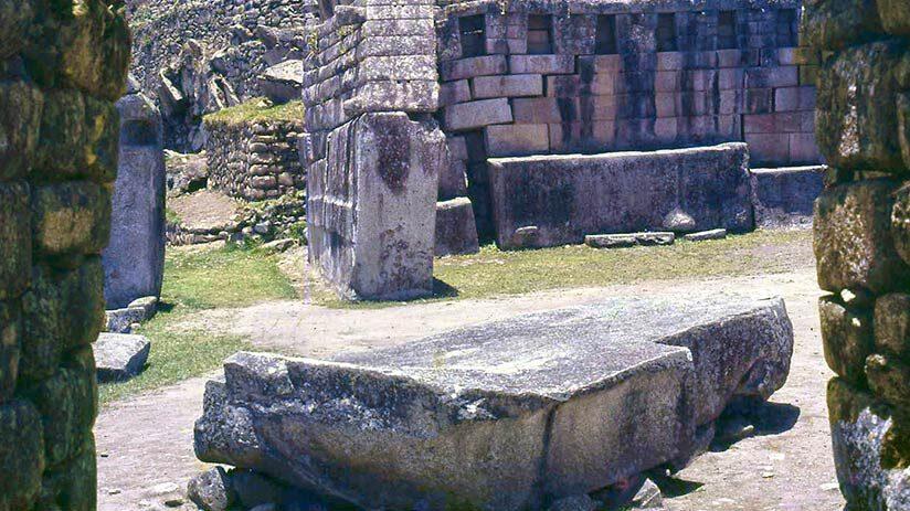 machu picchu facts sacred stone