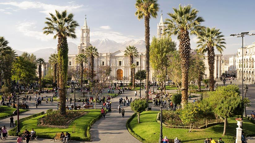 vacation spots arequipa