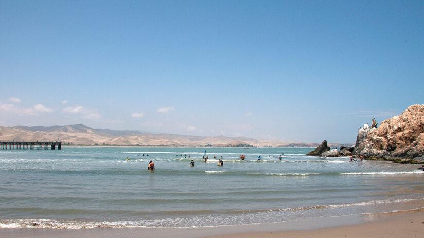 cerro azul beaches in peru