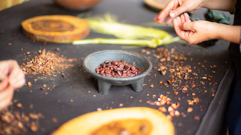 peruvian chocolate in gastronomic scene