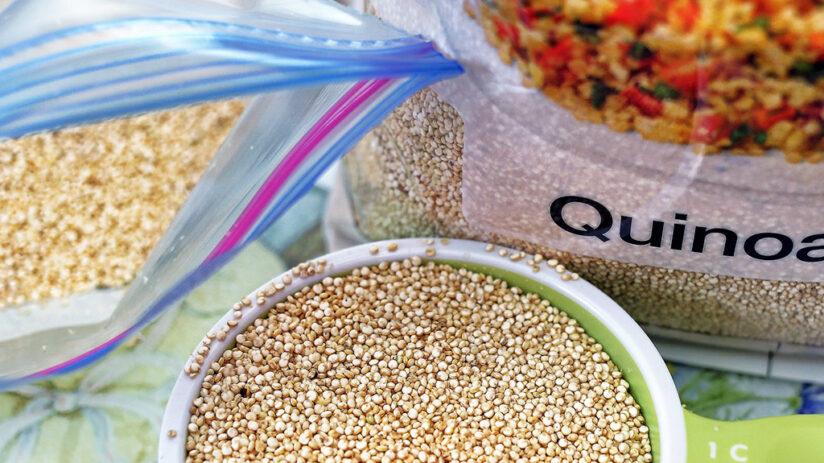 different varieties of quinoa