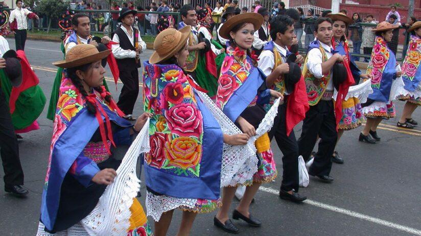 peruvian art craft music dances