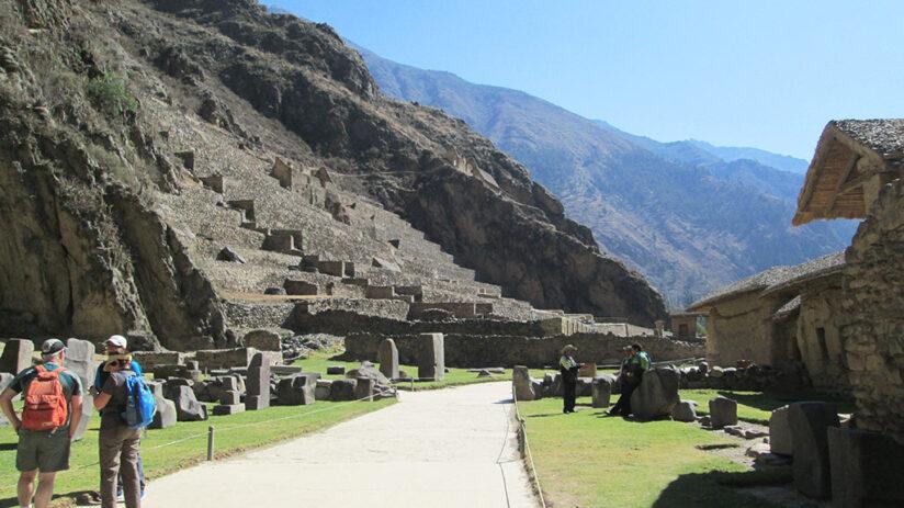 the history of ollantaytambo