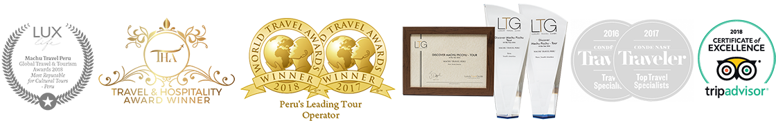 awards machu travel peru