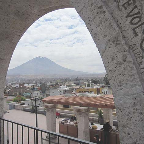 See Misti from a fresh angle arequipa
