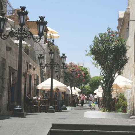 Tour the Historic center arequipa