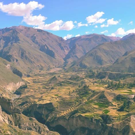 Colca Canyon Geography