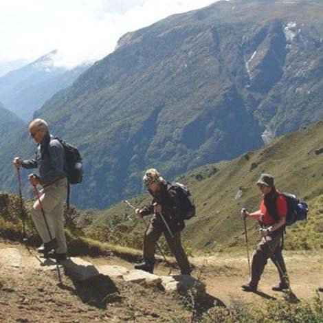 Trekking in and around the Colca Canyon