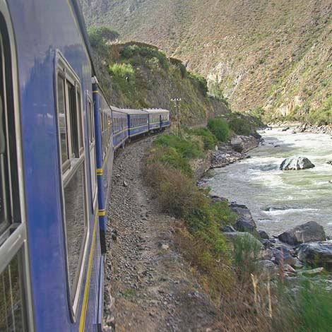 By Train to Machu Picchu