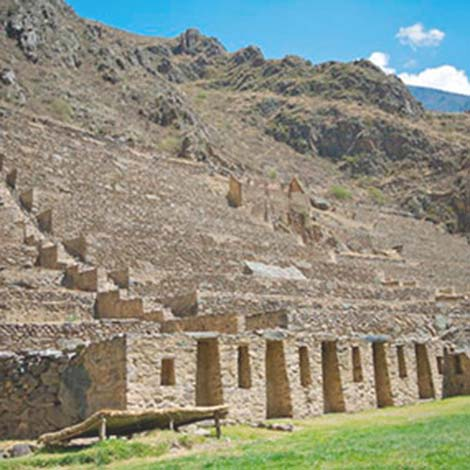 A strategic location ollantaytambo