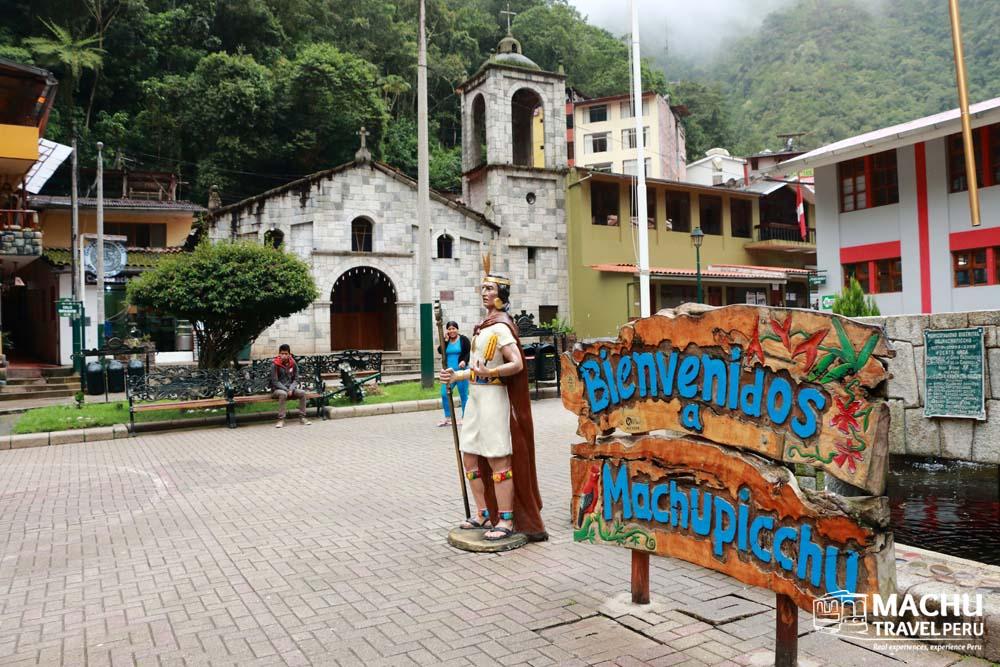 Welcome to Machu Picchu