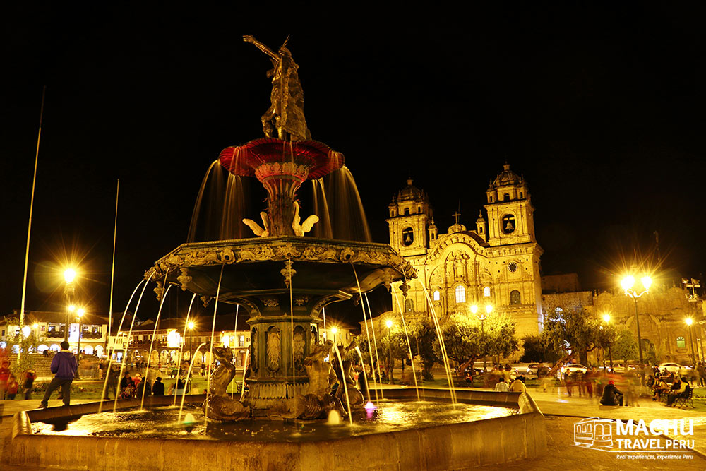 Magical Cusco Fountain