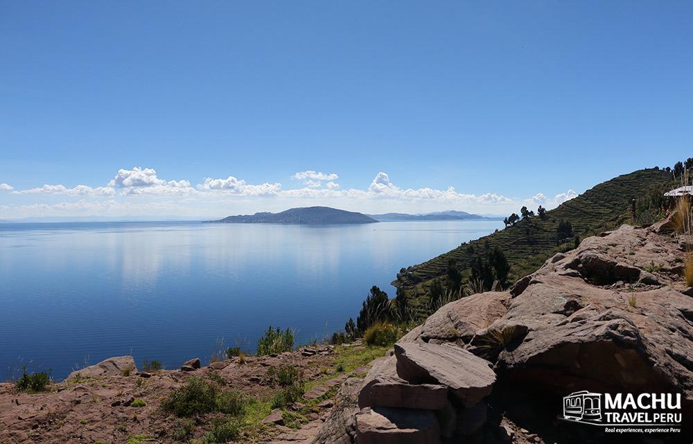 Cobalt Blue in Titicaca