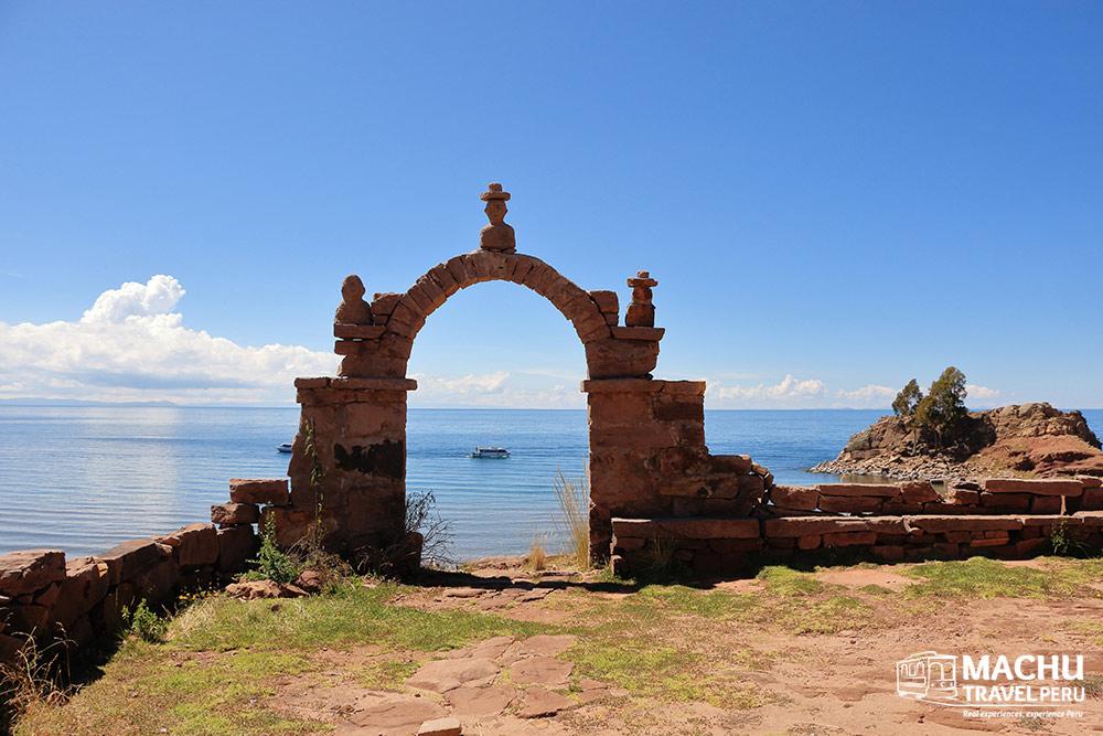 Titicaca Lake Taquile