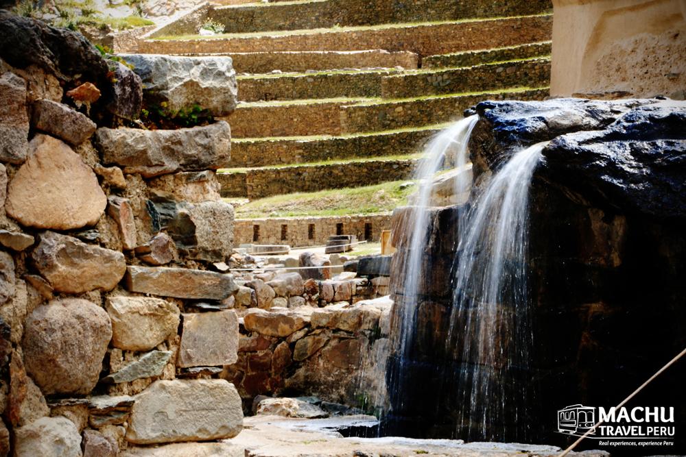 A Beautiful Fountain of Water