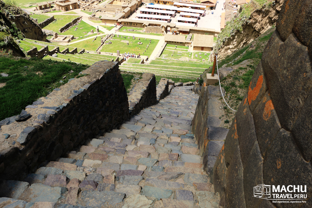 Stairways to Inca Terrace