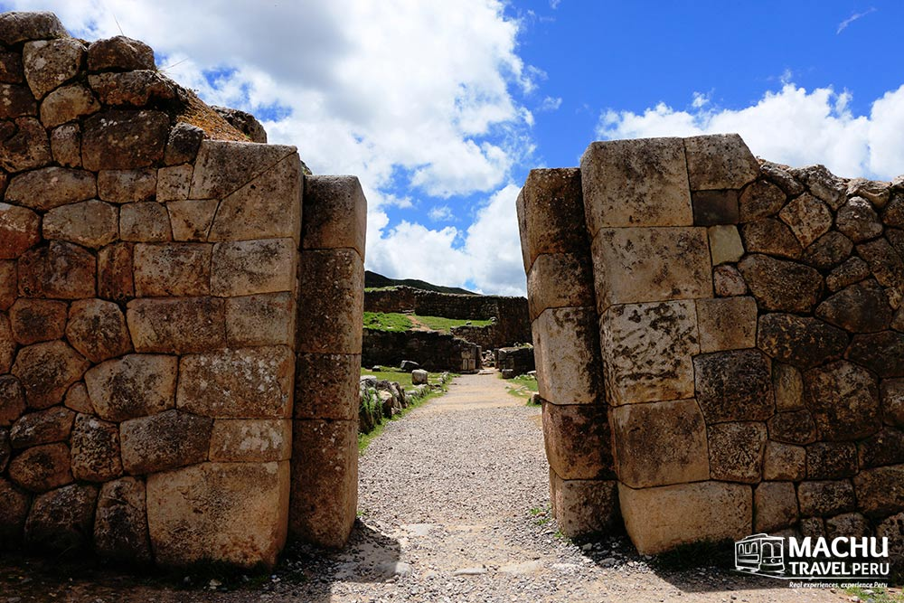 A Sacred Entrance to a Huaca