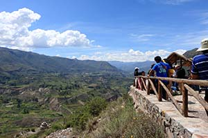Balcony in the Colca Canyon