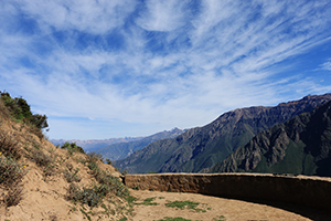 Mountains in the Colca Canyon