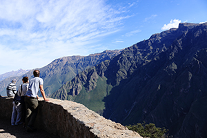 Tourist in the Colca Canyon 2