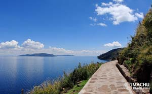 Tranquil Lake Titicaca