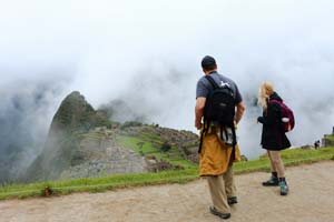 The Huayna Picchu Mountain