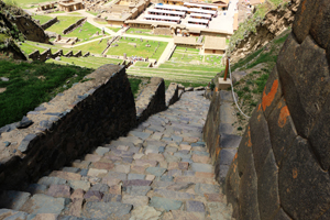 Stairways to Inca Terrace