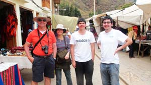 At Ollantaytambo fortress