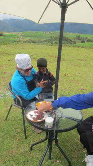 Sacred Valley Picnic