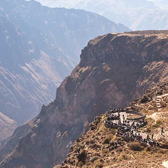 facts about the colca canyon with machu travel peru