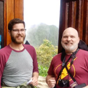 gregg roby & joshua kelley in a tour with machu travel peru