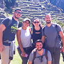 Michelle Logozzo with machu travel peru
