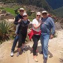 mitchell weinberg with machu travel peru