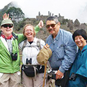 geraldine clancy in a machu picchu tour with machu travel peru