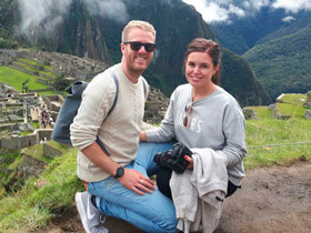 an amazing time in machu picchu