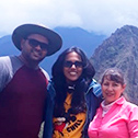 venkat balasubramanian with machu travel peru