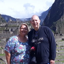 david hobson with machu travel peru